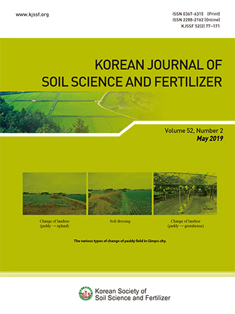 Korean Journal of Soil Science and Fertilizer